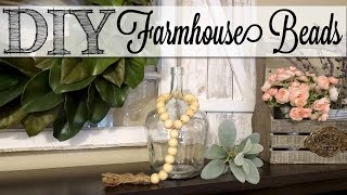 DIY EASY Farmhouse Beads