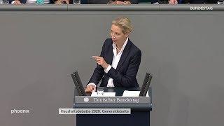 Generaldebatte: Rede von Alice Weidel am 11.09.19