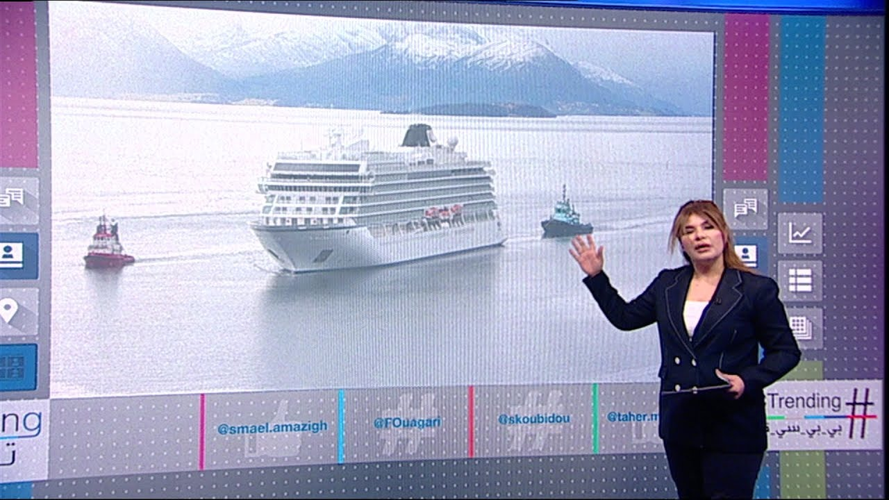 24 ساعة من الرعب عاشها 1000 راكب على متن الباخرة فايكينغ_سكاي النرويجية
