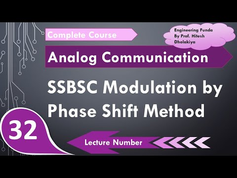 SSB-SC Generation By Phase Shift Method In Communication Engineering By Engineering Funda