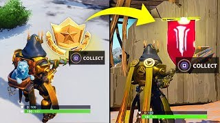 WEEK 8 SECRET BANNER SEASON 7 LOCATION GUIDE! - Fortnite Find the Secret Banner in Loading Screen 8
