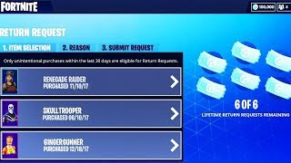How To GET REFUND TOKENS BACK In Fortnite Battle Royale! (More Than 3 Refunds Fortnite) *NEW*