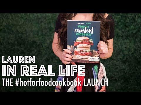 THE #hotforfoodcookbook LAUNCH | Lauren In Real Life