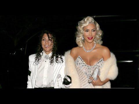 Kim Kardashian Dresses as Music Icons for Halloween