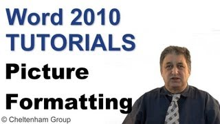 Word 2010 Tutorial | Formatting Pictures & Inserting Graphics