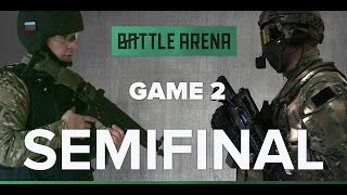 Game 2. Airsoft FPS - Sparta VS South park || GoPro || BattleArena