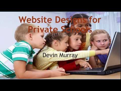 Website Design for Private Schools