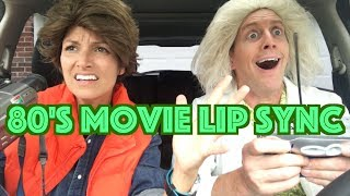 80's MOVIE LIP SYNC | Kristin and Danny