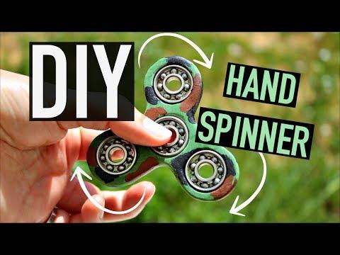 DIY Comment faire un HAND SPINNER : Rapide et Facile (français)