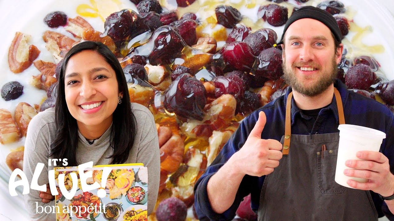 Brad and Priya Make Yogurt | It's Alive | Bon Appétit
