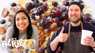 Brad and Priya Make Yogurt | It