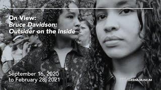 """Bruce Davidson: Outsider on the Inside"""