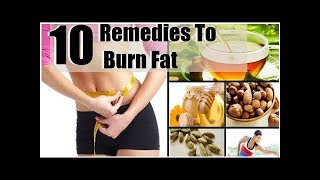 10 Surprising Fat Melting Remedies To BURN FAT And SLIM DOWN Naturally And Fast!