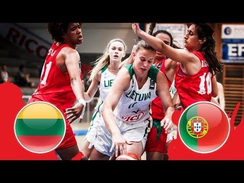 lithuania-v-portugal---full-game---qf---fiba-u18-women's-european-championship-division-b-2018