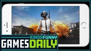 PUBG Goes Mobile - Kinda Funny Games Daily 11.28.17