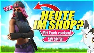 🔴Fortnite NEUER SHOP STREAM!❌FORTNITE SKIN CONTEST!❌Fortnite Live Deutsch #Fortnite #FortniteShop
