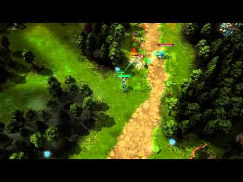 видео: heroes of newerth — представляем героя: klanx