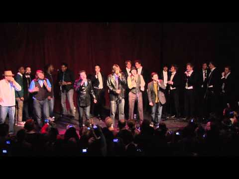 Fix You by Street Corner Symphony with Committed and the Whiffenpoofs at Nashville's Exit/In