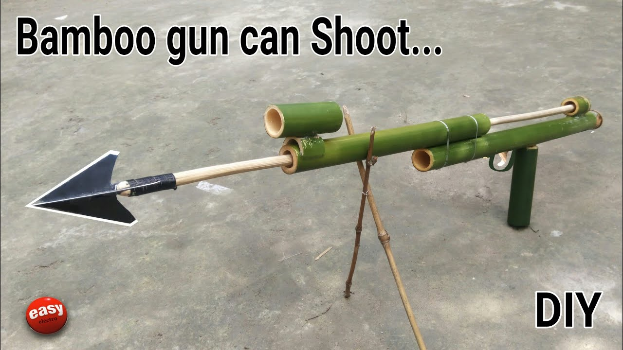 How to make a Bamboo gan that can real shoot. #1