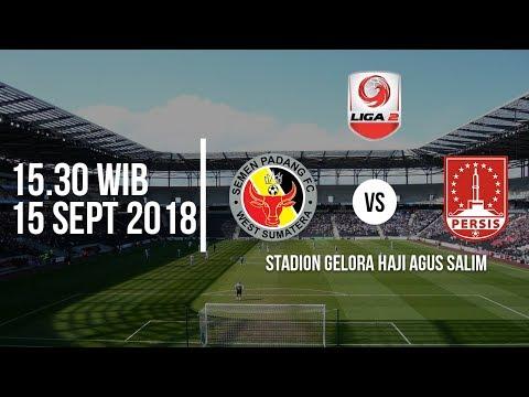 Jadwal Live TV One Liga 2 2018, Semen Padang FC Vs PERSIS SOLO, Pukul 15.30 WIB