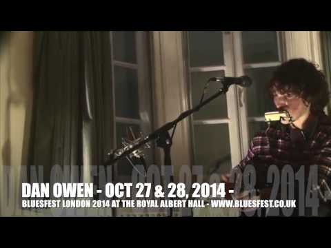 Dan Owen performs amazing acoustic set - the future of British Blues!