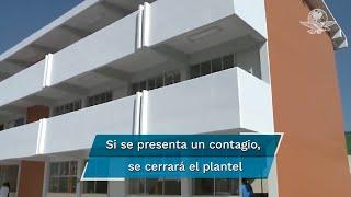 """Al participar en el foro virtual """"La visión de la educación en el entorno actual de México"""", de la Universidad Panamericana, el funcionario insistió en que no hay fecha para el regreso a clases pero que ambas entidades llevan la ventaja"""