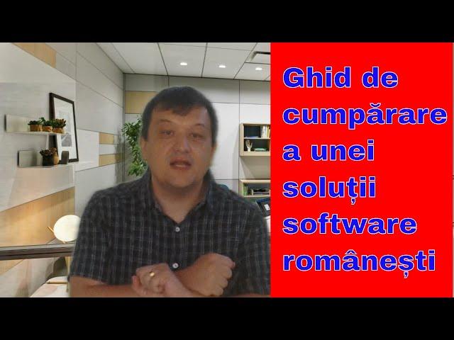 Ghid de contractare soluții software (românești)