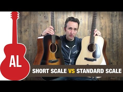 Short Scale vs Standard Scale: Martin D-18 Comparison