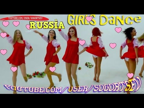 beautiful russian women folk dance oops! - youtube