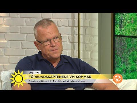 """Janne Andersson om VM-sommaren: """"Jag blir lite berörd igen""""  - Nyhetsmorgon (TV4)"""