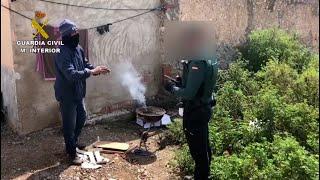 La Guardia Civil sorprende a un vecino de Torre Pacheco haciendo una barbacoa