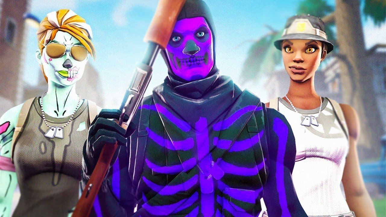 So I Played Squads With The Rarest Fortnite Og Skins And I Trolled Them