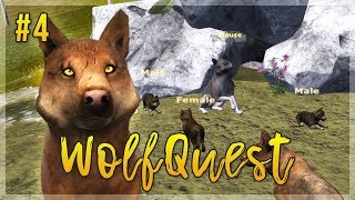 First Howls of Aspen Heights!   WolfQuest Let's Play - Episode 4