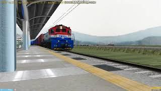 [OpenBVE]공항철도에 화물열차가 있다?!