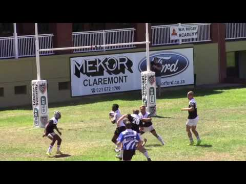 Malan Barnard | W.P. Rugby Academy & Hamilton RFC U20 | 2016 Rugby Highlights