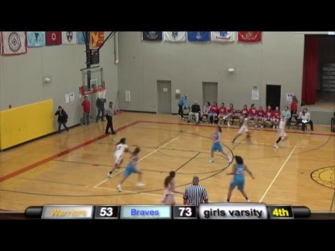 St. Francis Warrior vs Cheyenne Eagle Butte Braves (Doubleheader Basketball)