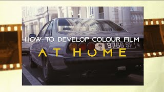 Develop Colour Film at Home // Tetenal Colortec C41 Kit (Save A Lot of Water)