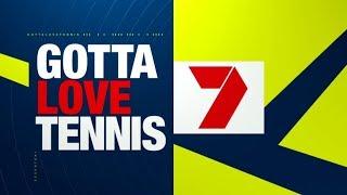 Channel Seven - Tennis Sponsor Billboard (January 2018)