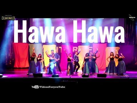 Tu Cheez Badi Hai Machine Hawa Hawa Mubarakan Retro Remix Bollywood Shiamak London Winter Funk 2017