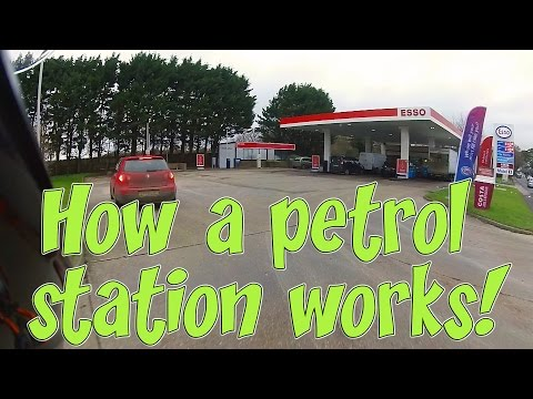 How a petrol/gas station works!