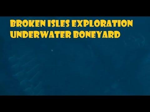 Broken Isles Underwater Boneyard
