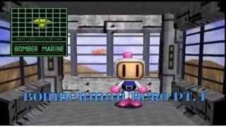 Bomberman Hero Intro and part 1