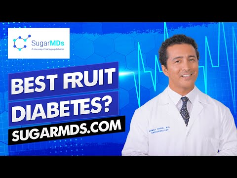 The BEST FRUITS Good For Diabetes | Doctor Explains