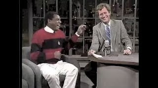 John Witherspoon on Letterman, 1987, 1988, and 1991