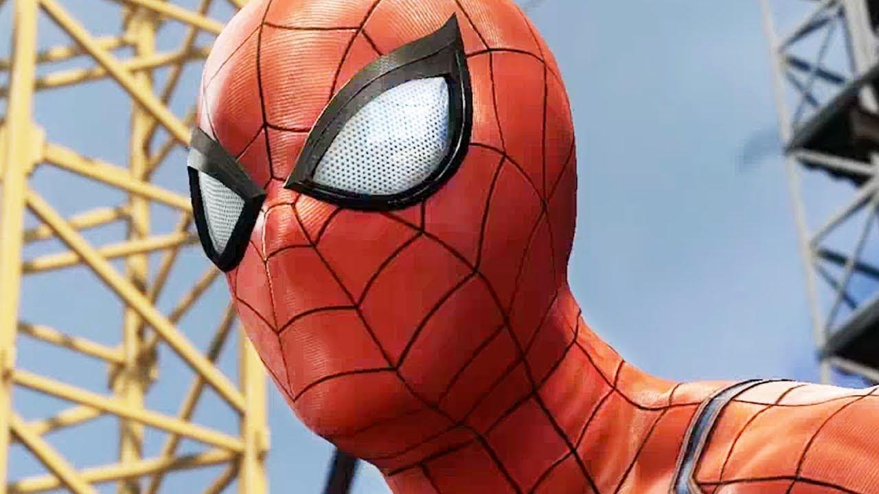 Spiderman Full Movie Deadpool vs Spiderman | Superhero Movies FXL 2019 All Cutscenes (Game Movie)