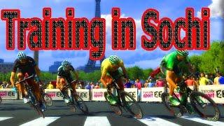 Тренировка в Сочи/ велоспорт. Cycling Training in Sochi(В этом видео вы в кратце увидите как мы тренировались находясь в городе Сочи в апреле) И как мы отдыхаем..., 2016-05-14T05:30:54.000Z)