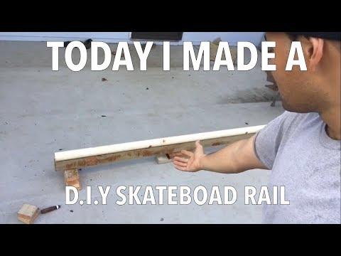 DIY Skateboard Rail | Skate Vlog | Skate Hawaii