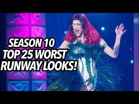 WORST RUNWAY LOOKS - Drag Race Season 10