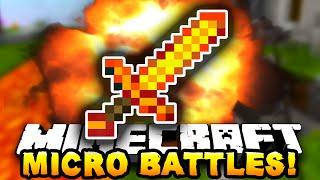 Minecraft MICRO BATTLES! 'DEATH RUSH!' #11 - w/ PrestonPlayz & JeromeASF