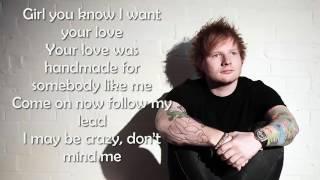 Shape of you Lyrics original song